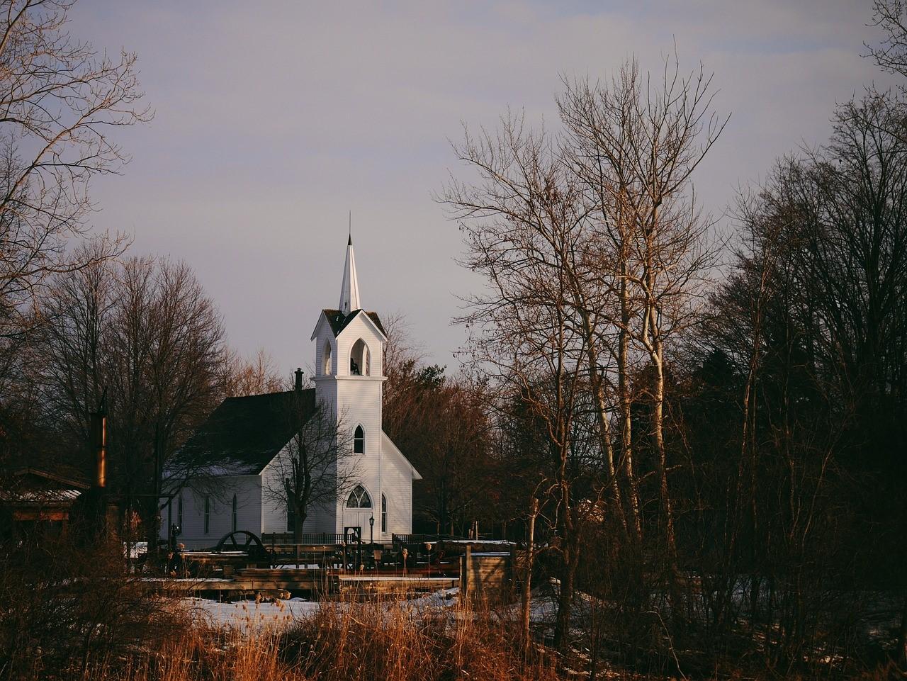 church_dusk